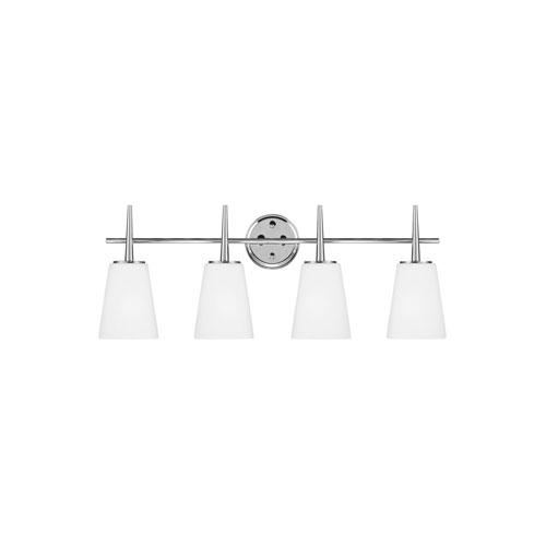 Nicollet Chrome Four-Light LED Energy Star Bath Vanity