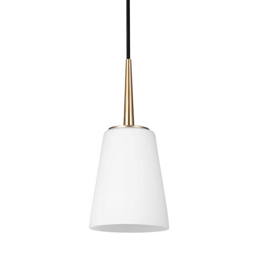 Nicollet Satin Bronze LED Energy Star Mini Pendant