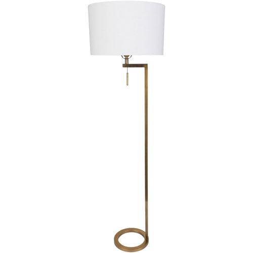 Loring Gold One-Light Floor Lamp
