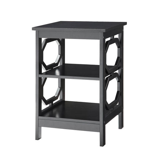 251 First Selby Black End Table