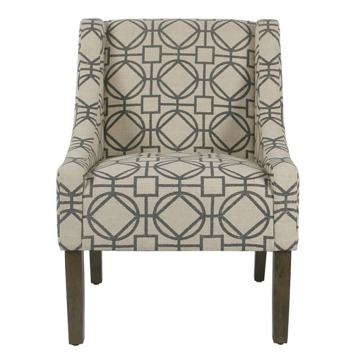 Whittier Gray Accent Chair