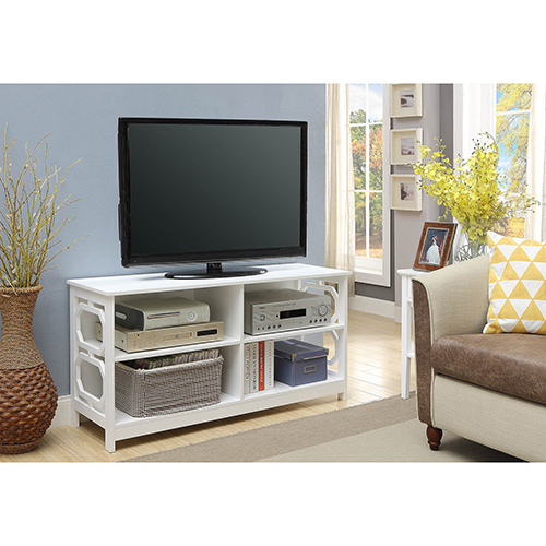 Selby White TV Stand