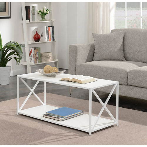 Selby White Coffee Table