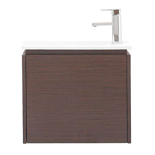 Uptown Iron Wood 22-Inch Vanity with Vitreous China Top