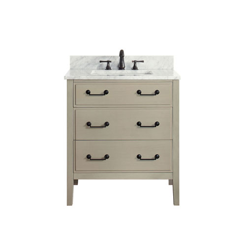 Selby Taupe Glaze 31-Inch Vanity Combo