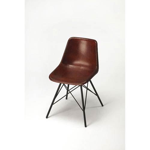 Uptown Medium Brown Side Chair