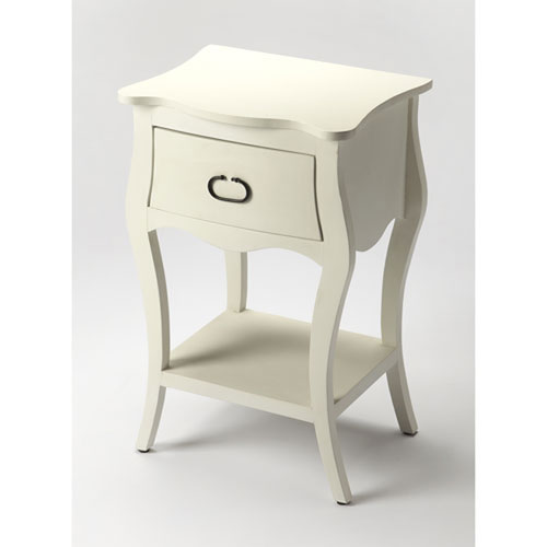 Quinn White Nightstand