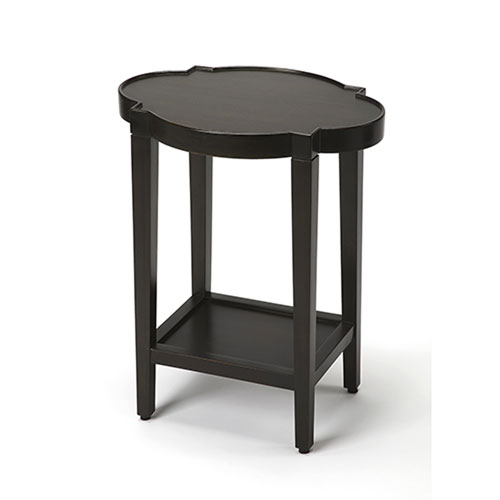 Aster Black End Table