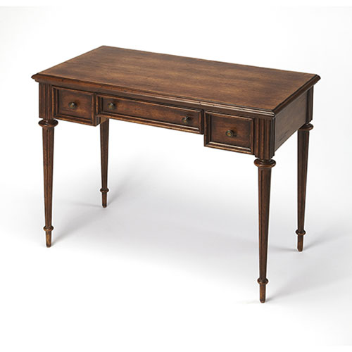 251 First Wellington Stained Wood Writing Desk