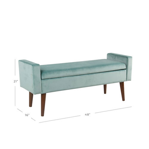 Cool Cooper Blue Storage Bench Andrewgaddart Wooden Chair Designs For Living Room Andrewgaddartcom