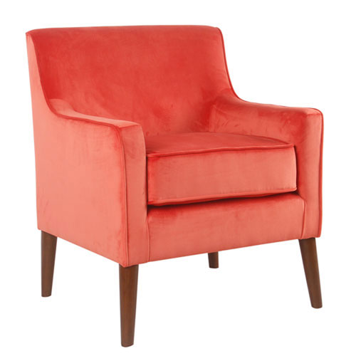 Cooper Orange Accent Chair