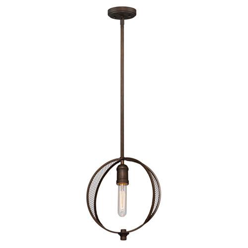 Nicollet Bronze One-Light Mini Pendant