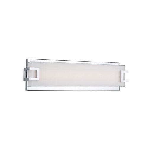 251 First Nicollet Chrome LED 18-Inch One-Light Bathroom Vanity