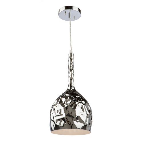 251 First Nicollet Chrome 16-Inch One-Light Mini Pendant