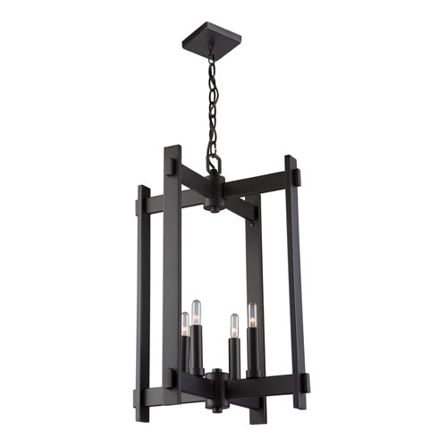251 First Uptown Oil Rubbed Bronze Four-Light Pendant