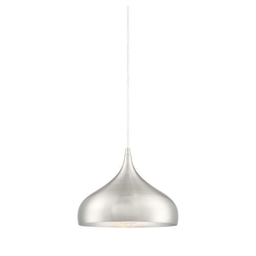 Fredrick Brushed Nickel One-Light Pendant