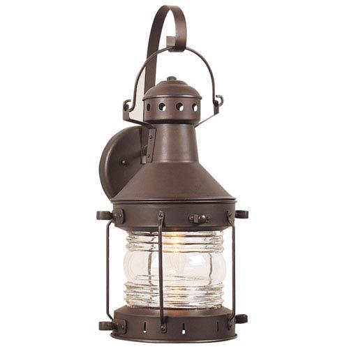 Knox Copper One-Light Flourescent Wall Lantern