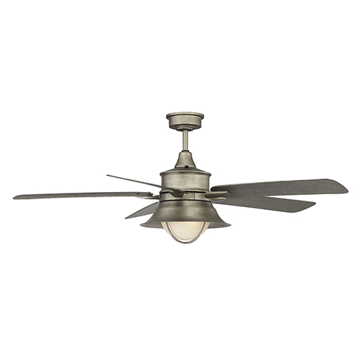 Revolution English Bronze 52-Inch One-Light Ceiling Fan
