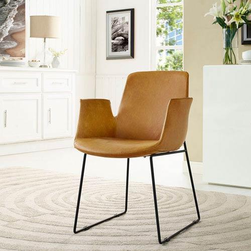 Nicollet Tan Dining Chair
