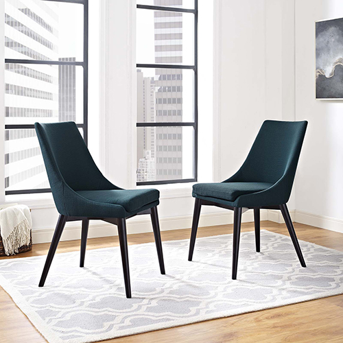 Uptown Blue Dining Chair, Set of Two