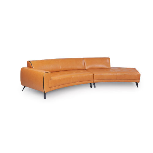 Uptown Brown 142-Inch Sectional Sofa
