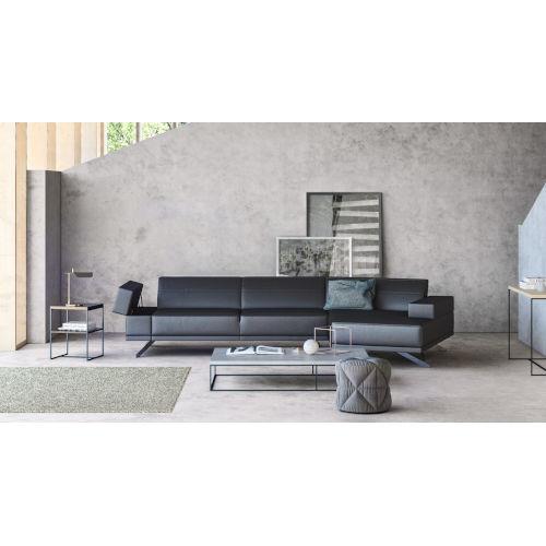 Loring Gray 125-Inch Sectional Sofa