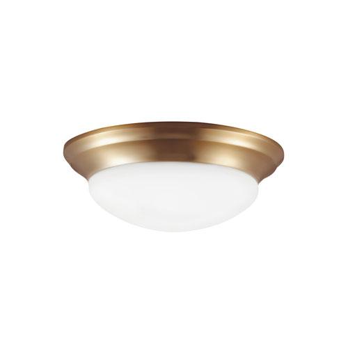 Bryant Satin Bronze Energy Star LED Flush Mount