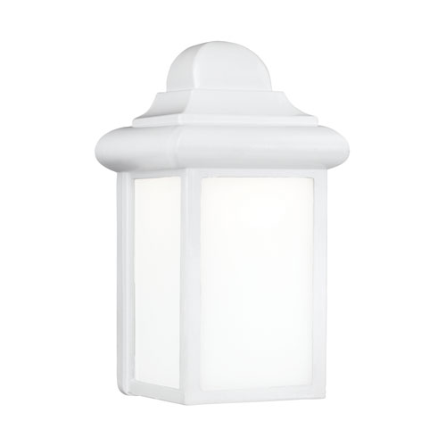 Eloise White Energy Star LED Outdoor Wall Lantern