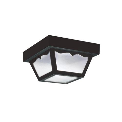Claire Transparent Energy Star LED Outdoor Flush Mount