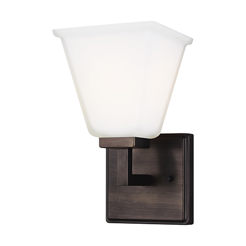 Aster Brushed Oil Rubbed Bronze One-Light Wall Sconce