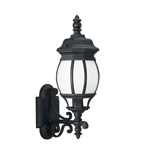 Charles Black 6-Inch One-Light Outdoor Wall Lantern