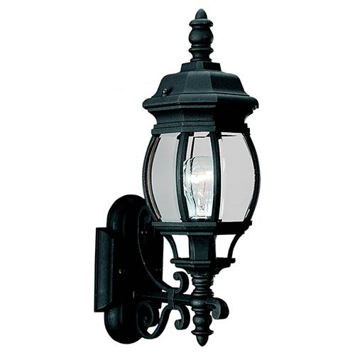 Charles Black 20-Inch High One-Light Outdoor Wall Lantern