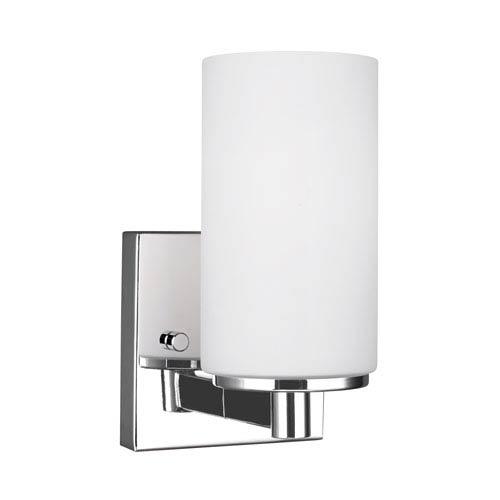 Artemis Chrome 4.5-Inch One-Light Bath Light