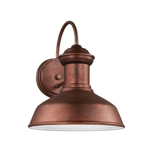 Lex Weathered Copper One-Light Outdoor Wall Sconce