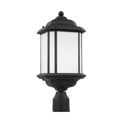 Preston Black 8.5-Inch One-Light Outdoor Post Mount