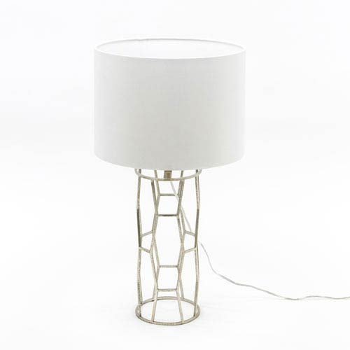 Uptown Silver Table Lamp