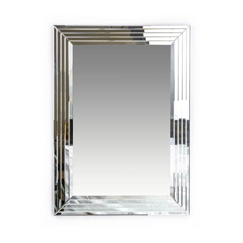 Uptown Silver Wall Mirror