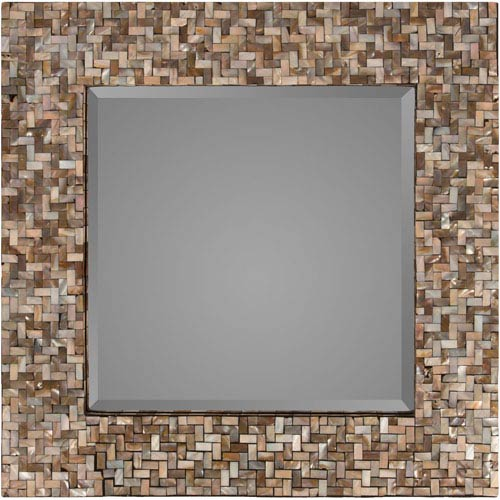 Selby Neutral Square Wall Mirror