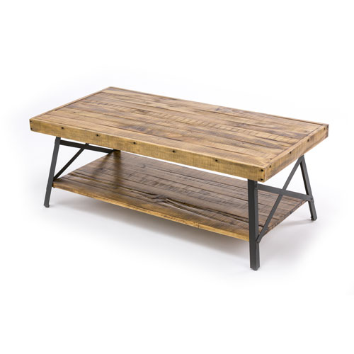 Fulton Reclaimed Wood Cocktail Table