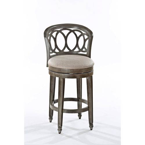 Whittier Gold Swivel Counter Stool
