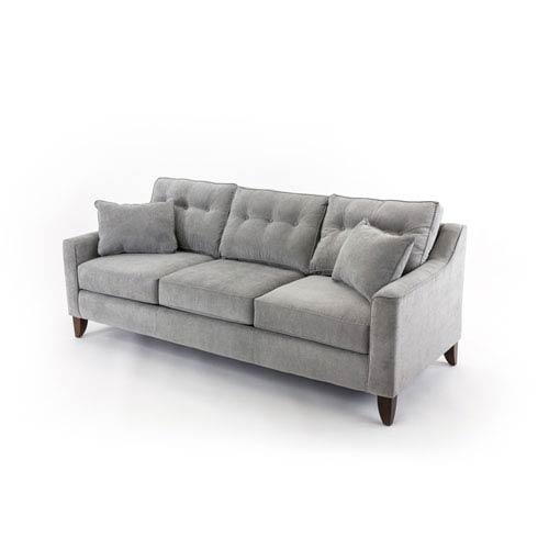 251 First Loring Concrete Gray Sofa