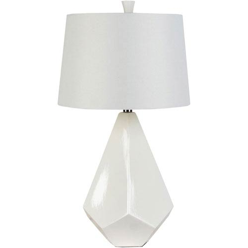 White Ceramic Lamp Bellacor