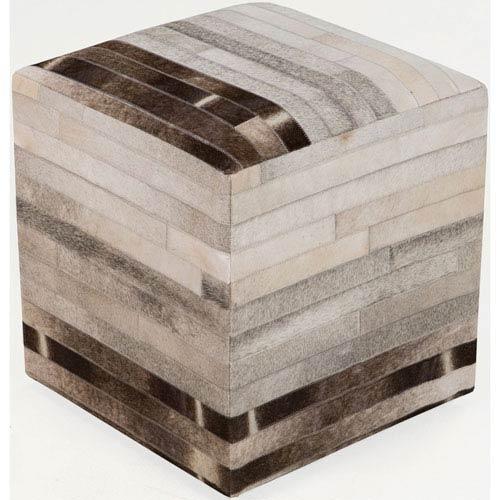 Fulton Neutral Cube Pouf