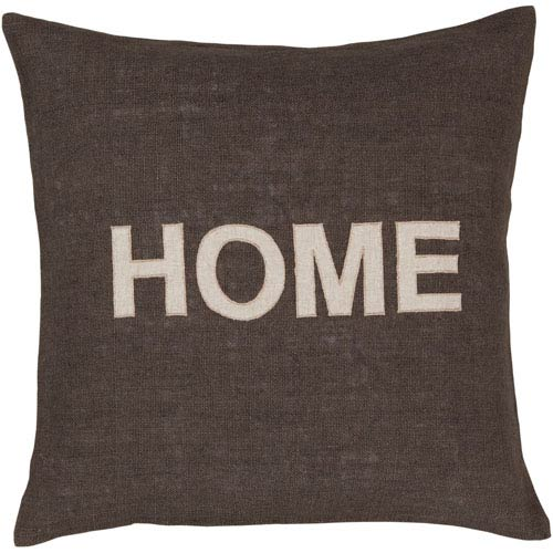 251 First Fulton Charcoal Home 18 x 18-Inch Pillow