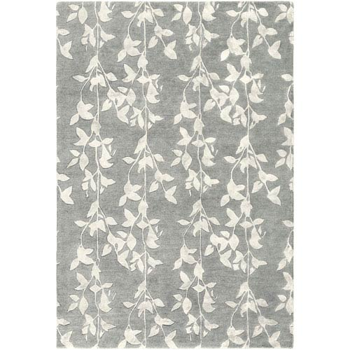 251 First Quinn White and Sage Rectangular: 2 Ft. x 3 Ft. Rug