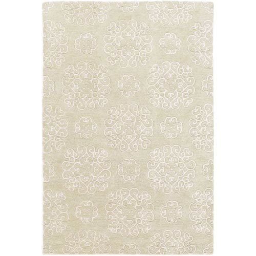 Selby Olive and Khaki Rectangular: 5 Ft. x 7 Ft. 6-Inch Rug