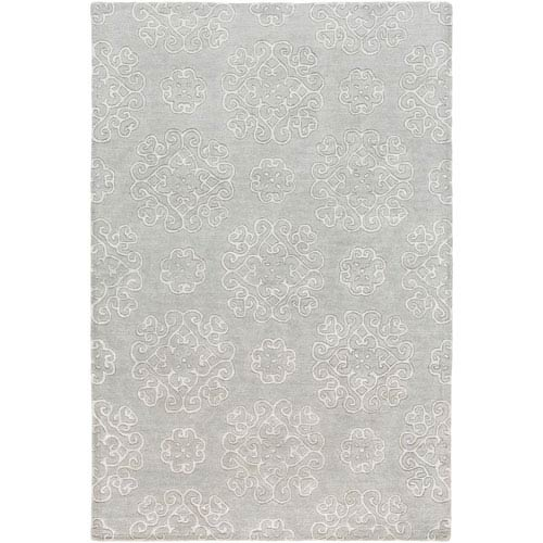 Selby Seafoam and Gray Rectangular: 5 Ft. x 7 Ft. 6-Inch Rug