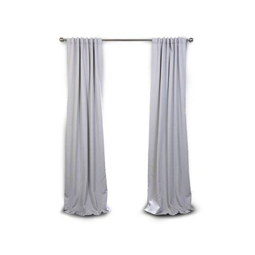 Selby Gray 120 x 50-Inch Blackout Curtain Panel Pair Panel Pair