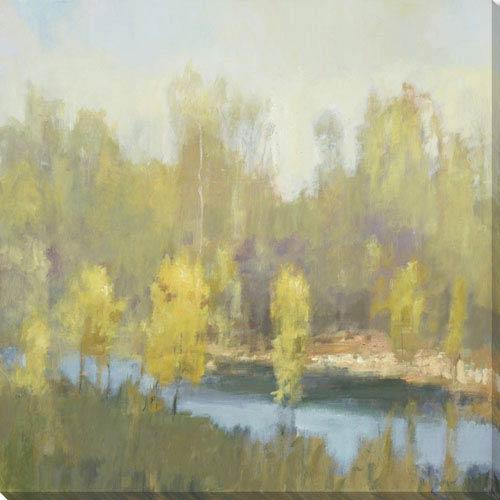 251 First Quinn Hidden River 28 x 28 In. Wall Art