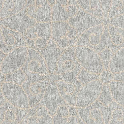 251 First Grace Gray and Cream Rectangular: 2 Ft. x 3 Ft. Rug